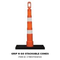 36 Grip N Go Stackable Cones