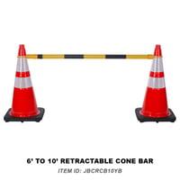 36 Retractable Cone Bar