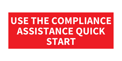 Use the Compliance Assistance Quick Start